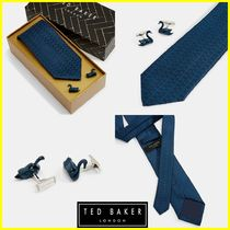 TED BAKER(テッドベーカー) ネクタイ 【日本未入荷!】TED BAKER☆白鳥プリントネクタイギフトセット