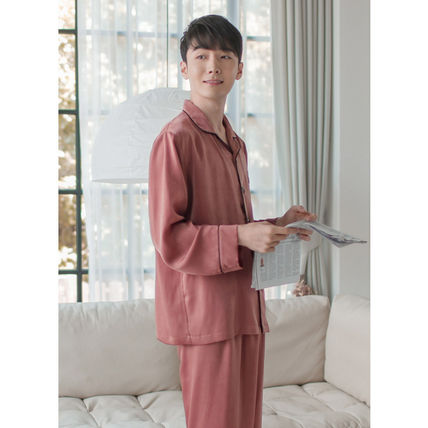 EVENIE ルームウェア・パジャマ ★EVENIE★SF9着用 SF9 Pajamas Sensual Brick long sleeve fair(3)