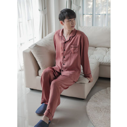 EVENIE ルームウェア・パジャマ ★EVENIE★SF9着用 SF9 Pajamas Sensual Brick long sleeve fair(4)