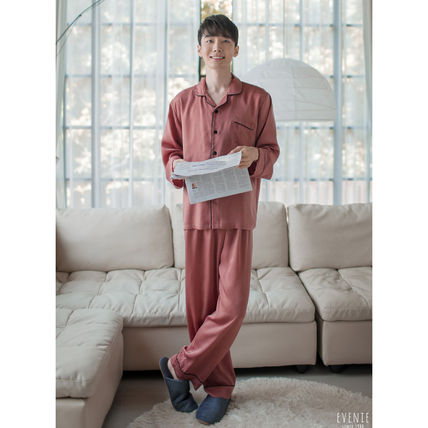 EVENIE ルームウェア・パジャマ ★EVENIE★SF9着用 SF9 Pajamas Sensual Brick long sleeve fair(5)