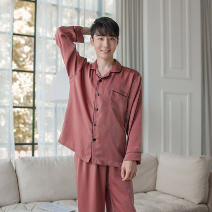 EVENIE ルームウェア・パジャマ ★EVENIE★SF9着用 SF9 Pajamas Sensual Brick long sleeve fair(6)