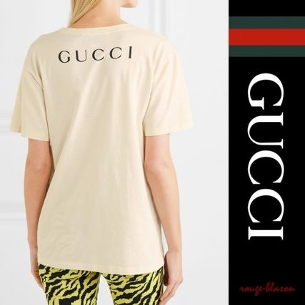 GUCCI Tシャツ・カットソー 【国内発送】GUCCI Tシャツ  Billy Idol printed cotton T-shirt(2)