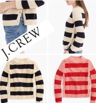 The Reeds x J.Crew コラボ rugby sweater with side buttons