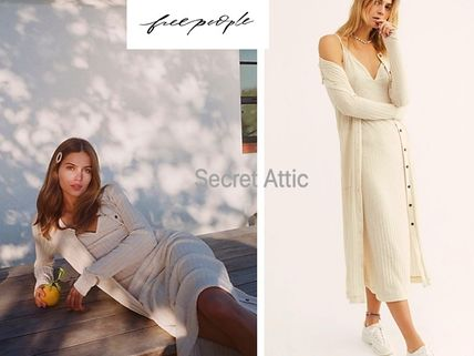Free People セットアップ 新作&セット★Free People ワンピ&カーデセット