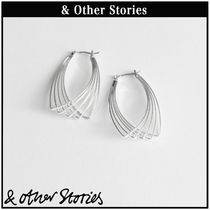 【 & Other Stories 】Overlapping Wire ピアス  0688810001