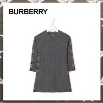 BURBERRY / WOOL&CASHMERE DRESS グレー【関税・送料込】
