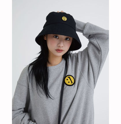 MSKN2ND ハット ★MSKN2ND★日本未入荷 韓国 バケットハット E BUCKETHAT BLACK(3)