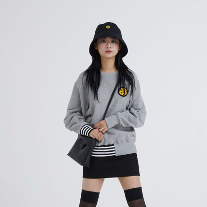 MSKN2ND ハット ★MSKN2ND★日本未入荷 韓国 バケットハット E BUCKETHAT BLACK(4)