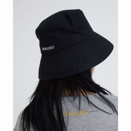 MSKN2ND ハット ★MSKN2ND★日本未入荷 韓国 バケットハット E BUCKETHAT BLACK(6)