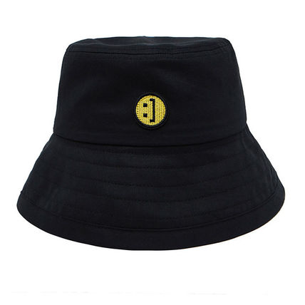 MSKN2ND ハット ★MSKN2ND★日本未入荷 韓国 バケットハット E BUCKETHAT BLACK(8)