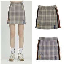 日本未入荷ROMANTIC CROWNのGNAC Check Skirt 全2色