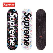 SS19 Supreme Airbrushed Floral Skateboard - スケボー デッキ