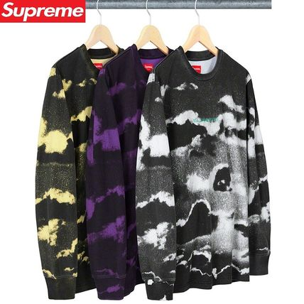 Supreme トップスその他 19SS 立ち上げ Supreme Clouds L/S Top S〜XL