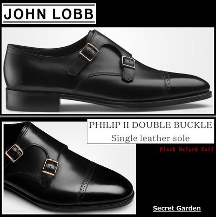 【英国王室御用達★JOHN LOBB】Philip II Double Buckle★全2色