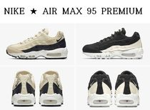 NIKE ★ WMNS AIR MAX 95 PREMIUM ★ LIGHT CREAM ★ 22~26cm