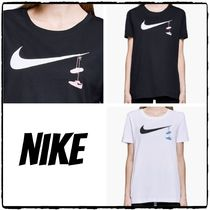 SALE!! NIKE  Tee Swoosh Shoes Embrd Tシャツ*送料追跡無料*