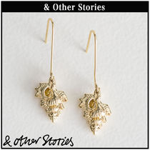 【 & Other Stories 】Conch Shell Hanging ピアス  0662159001