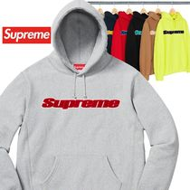 Supreme  Chenille Hooded Sweatshirt SS 19 WEEK 0