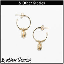 【 & Other Stories 】Puka Shell Hoop ピアス  0619667001