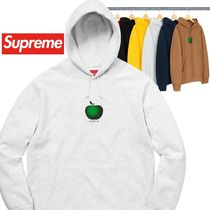 Supreme Apple Hooded Sweatshirt SS 19 WEEK 0