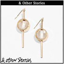 【 & Other Stories 】Circle Bead and Bar ピアス  0636045001