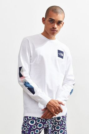 THE NORTH FACE Tシャツ・カットソー THE NORTH FACE★新作/送込★袖ロゴ長袖Tシャツ(2)