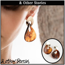 【 & Other Stories 】Twisted Enamel ピアス   0729590001