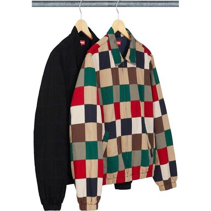 Supreme ジャケットその他 Supreme Patchwork Harrington Jacket SS 19 WEEK 0(2)