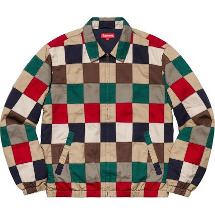 Supreme ジャケットその他 Supreme Patchwork Harrington Jacket SS 19 WEEK 0(3)