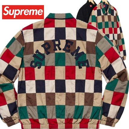 Supreme ジャケットその他 Supreme Patchwork Harrington Jacket SS 19 WEEK 0
