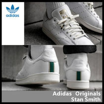 【ADIDAS ORIGINALS】STAN SMITH GOLD LOGO DB3527