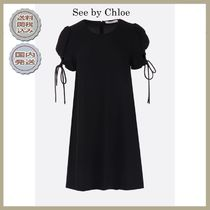 2019春夏See by Chloe crepe short dress