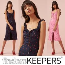 2019SS【FINDERS KEEPERS】いちご柄が可愛いミディ丈ワンピ♪