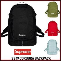 Supreme  Backpack Cordura jacquard logo SS 19 WEEK 0
