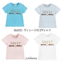 GUCCI(グッチ) ベビーその他 GUCCI_BABYヴィンテージロゴTシャツ4色有り(関送込み)2019SS