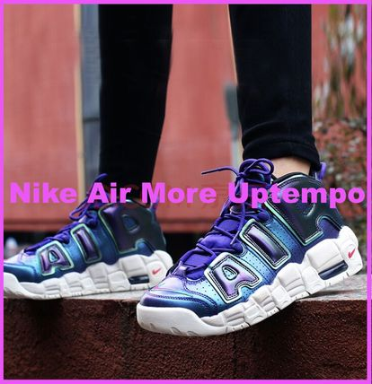 Nike キッズスニーカー 【大人気★ナイキエアモア】大人もOK☆Nike Air More Uptempo SE