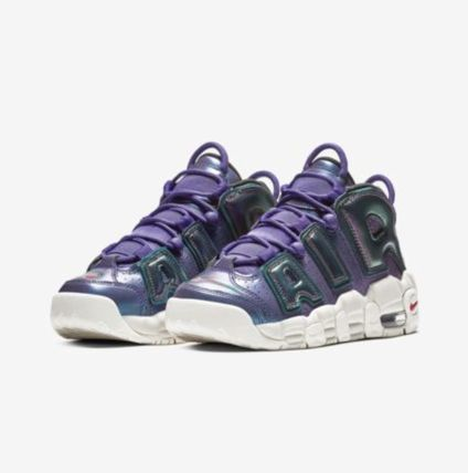 Nike キッズスニーカー 【大人気★ナイキエアモア】大人もOK☆Nike Air More Uptempo SE(2)