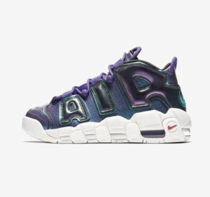 Nike キッズスニーカー 【大人気★ナイキエアモア】大人もOK☆Nike Air More Uptempo SE(4)