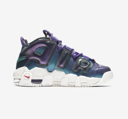 Nike キッズスニーカー 【大人気★ナイキエアモア】大人もOK☆Nike Air More Uptempo SE(5)