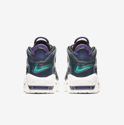 Nike キッズスニーカー 【大人気★ナイキエアモア】大人もOK☆Nike Air More Uptempo SE(6)
