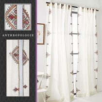 ★BOHOシック!モロッコ調Embroidered Isabella Curtain ★丈詰OK
