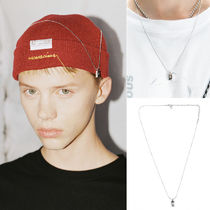 ANOTHERYOUTH(アナザーユース) ネックレス・ペンダント 韓国大人気(日本未入荷) ANOTHERYOUTH UNISEX logo bar necklace