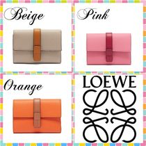 (^O^)LOEWE(ロエベ)/Anagram grained-leather wallet