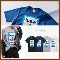 【HAVE A GOOD TIME】BLUE BIG FRAME S/S TEE Tシャツ