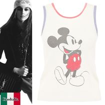 Saint Laurent Mickey Mouse Top