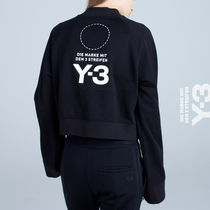 Y-3(ワイスリー) スウェット・トレーナー 直営アウトレット【Y-3】W STACKED LOGO SWEATER/ DP0710 BLACK