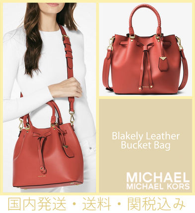 a2879041d0 Michael Kors トートバッグ  セール 国内発送 Blakely Leather Bucket Bag ...