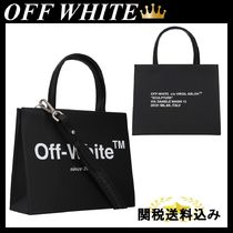 OFF WHITE mini Box bag in smooth leather