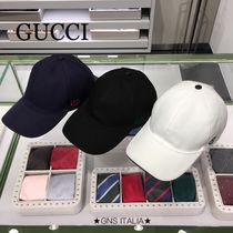GUCCI☆大人気 HAT100%CO BASEBAL PAFOD☆387554