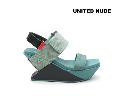 新作☆個性派ヒール☆UNITED NUDE Delta Wedge sandal☆
